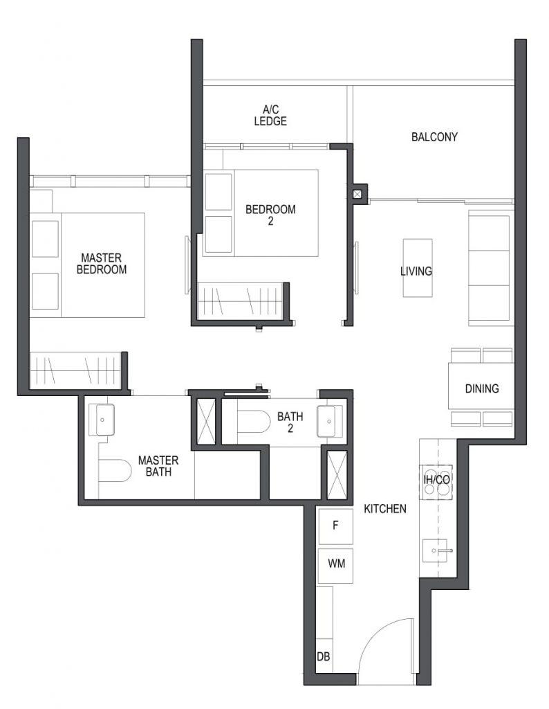 Pullman Residences Newton Condo - Floor