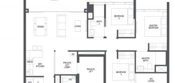 pullman-residences-condo-singapore-floor-plan-3-bedroom-c1