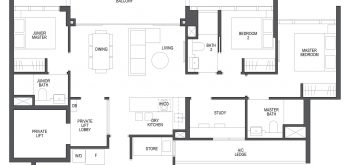 pullman-residences-condo-singapore-floor-plan-3-bedroom-study-c2