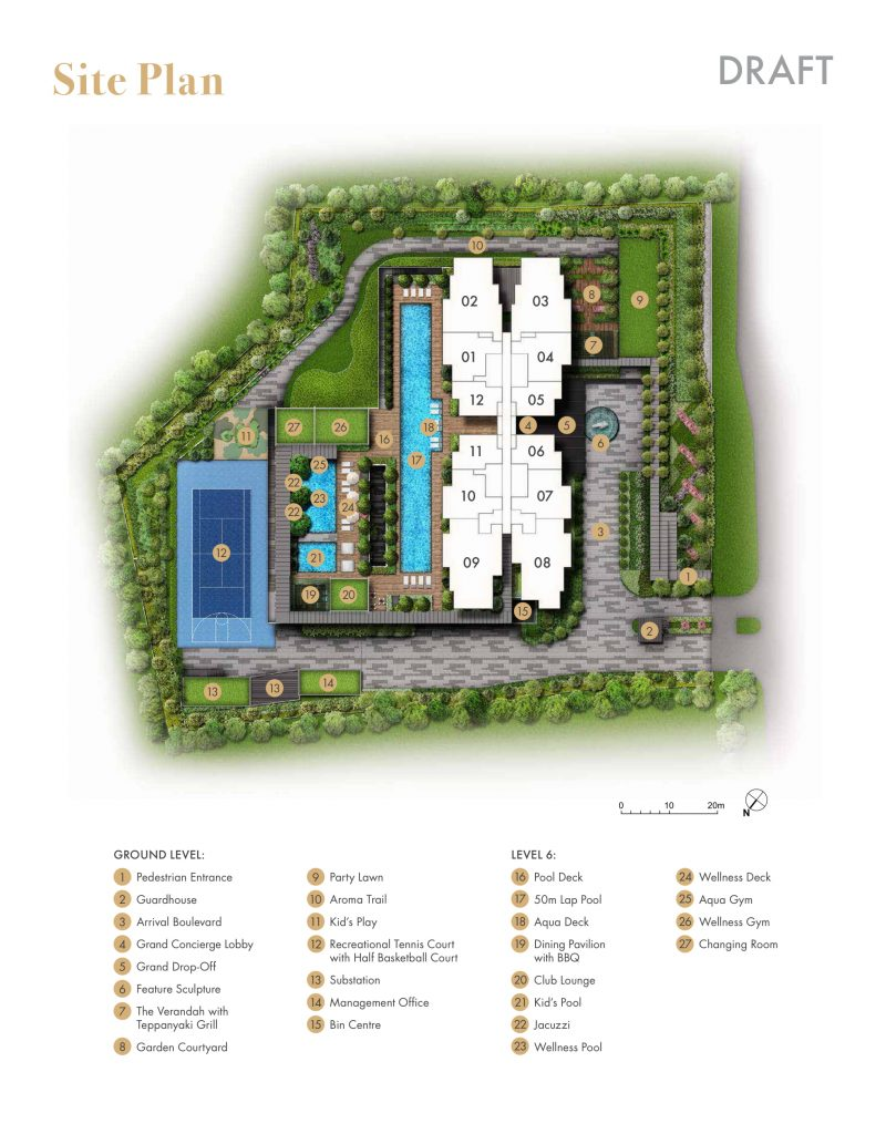 pullman-residences-condo-singapore-site-plan