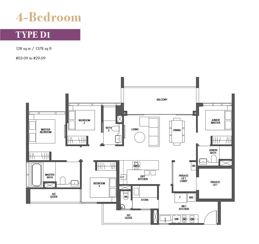 pullman-residences-floor-plan-4-bedroom